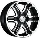 "17"" GEAR ALLOY DOUBLE PUMP BLK W/ 295/70/17 NITTO TRAIL GRAPPLER MT WHEELS RIMS"