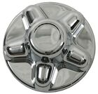 "(1) Chrome Trailer Wheel Hub Cap Covers 5 lug 5 x 4.5"" pattern, cargo,camper"