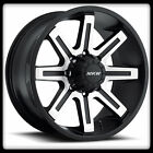 """18"""" MKW OFFROAD M88 MACHINED RIMS & TOYO 285-60-18 OPEN COUNTRY AT WHEELS TIRES"""