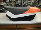 Used 2011 Arctic Cat Orange Snowmobile Seat Assembly - Part 4706-953