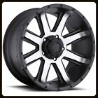 "16"" X 8"" ULTRA 195U CRUSHER RIMS & MICKEY THOMSPON LT265-75-16 MTZ TIRES WHEELS"
