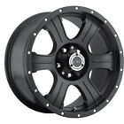 16x8 Matte Black V-Tec Assassin  5x4.5 +0 Wheels Open Country AT II 265/70/16