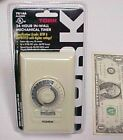 24 Hour Mechanical In-Wall Timer 20A Tork 701AA, UL Listed 1350W Spec Grade 1 HP