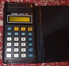 GREAT Vintage Canon Card LC 31 Pocket Calculator w/ Folding Case FREE SHIP