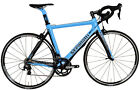 STRADALLI CARBON FIBER AERO ROAD BIKE 105 5800 11 SPEED 55CM L BLUE FSA BB30