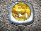 """Vintage US PIONEER 145 Old 4"""" Fog Light Rat Rod Hot Rod CHROME Amber Bulb"""