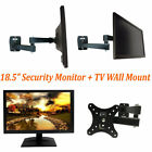"[Package] CCTV 18.5"" Security Monitor Looping BNC Input Output + WallMount"