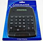 NEW Large JUMBO CALCULATOR, 8 Digits Display Hard Keys Battery Powered, Desktop