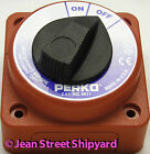 2 Position Battery Selector Disconnect Switch Marine Boat Off On Perko 9611DP