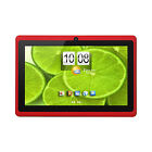 "7"" Tablet PC Quad Core Android 4.4 KitKat Wi-Fi Dual Camera + Accessory (Red)"