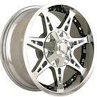 00-06 GMC Yukon 1500 20x9 6x5.5 +18 108 Mayhem Missle 8060C Wheels Rims Chrome