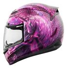Icon Women's Airmada Sweet Dreams Graphic Full Face Motorcycle Helmet ALL SIZES