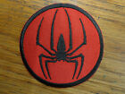 Spiderman Spider Embroidered Patch 3 inch round Made in USA