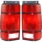 New Tail Lights Lamps Set of 2 Driver & Passenger Side FO2800109, FO2801108 Pair