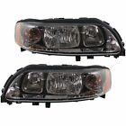 VO2503120, VO2502120 New Set of 2 Headlights Lamps Driver & Passenger Side Pair