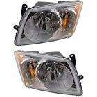 New Headlights Lamps Set of 2 Driver & Passenger Side 5303738AJ, 5303739AJ Pair