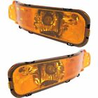 New Turn Signal Lights Lamps Set of 2 Driver & Passenger Side LH RH Mustang Pair