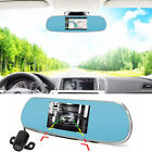 """5"""" 1080P Android 3D GPS Navigation WIFI Rear View Mirror Camera Cam CAR DVR S518"""