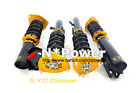 SYC ADJUSTABLE DAMPER COILOVERS F&R SET FOR NISSAN 370Z COUPE CONVERTIBLE 08-ON