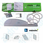 AIRWIN 650N 24V STROKE=350MM Rack for Shed Top-Hung Windows Skylights Domes