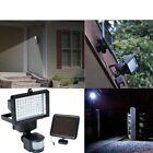 Solar Powered 60 LED Motion Sensor Security Light Flood Lighting Lamp Light -LS