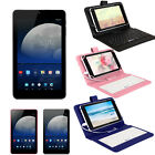 "iRULU 7"" Android 5.1 Tablet PC Quad Core 1+16GB IPS Bluetooth WIFI w/ Keyboard"