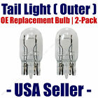 Tail Light Bulb (Outer) 2pk OE Replacement Fits Listed Chevrolet Vehicles - 7443