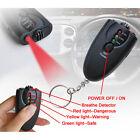3in1 Alcohol Detector LCD Digital Alcohol Breath Test Analyzer Breathalyzer Kit
