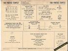 1964 PONTIAC TEMPEST LEMANS V8 326 ci H.O. Engine Car SUN ELECTRONIC SPEC SHEET