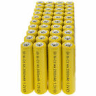 40x AA battery batteries Bulk Nickel Cadmium Rechargeable NI-Cd 2800mAh 1.2V Yel