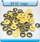 100pcs 25mm 13.56MHZ RFID Waterproof Thermostab​le 200℃ Laundry Washer Dryer TAG