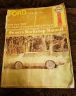 Ford Mustang ll 2.3 2.8 1974-1976 Owners Workshop Manual  4 & 6 cyl Models Book