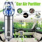 2017 Mini Auto Car Fresh Air Ionic Purifier Oxygen Bar Ozone Ionizer Cleaner NEW