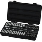 """GearWrench 80551 57 Piece 3/8"""" Drive 12 Point SAE and Metric Socket Set-FREESHIP"""