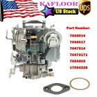 Carburetor 1 BBL Rochester For Chevy & GMC V6 250 & 292 w/ Choke Thermostat
