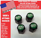 Billet Ford 5.0 Green Coyote Mustang Cobra Shelby GT Valve Stem Caps - The Best