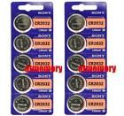 10pcs Sony CR2032 CR 2032 3V Button Coin Cell Battery Brand new Genuine