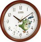 NEW Rhytem clock X My neighbour TOTORO 8MGA27RH06 airmail tracking