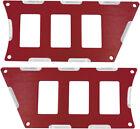 NEW ModQuad ATV/UTV 6 Slot Switch Plate Red RZR-SP6-1K-RD