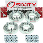 """4pc 1.25"""" Dodge 5x127mm to 5x120.7mm Wheel Spacers Adapters Grand Caravan os"""