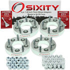 """4pc 1.25"""" Mazda 5x114.3mm to 5x120.7mm Wheel Spacers Adapters 3 626 929 CX-5 jt"""