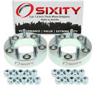 """2pc 1.5"""" 5x5"""" to 5x4.5"""" Wheel Spacers Adapters Pickup Truck SUV Thick Studs ov"""