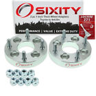 """2pc 1"""" Toyota 4x3.9"""" to 4x4.5"""" Wheel Spacers Adapters Celica Corolla Echo ql"""