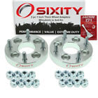"""2pc 1"""" Mitsubishi 4x3.9"""" to 4x4.5"""" Wheel Spacers Adapters i-MiEV Lancer lw"""