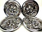 """1966 - 1969 FORD Galaxie 500 15"""" Hubcaps Mag Style Wheel Covers  1967 1968 GT"""