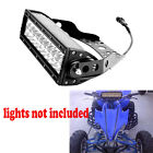 "10"" Inch Led Light Bar Mounting Bracket For LTZ400 Z400 KFX400 LT-R ATV UTV"