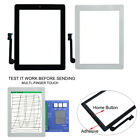 1pc Touch Screen Display Digitizer Glass Panel & Home Button Adhesive For Ipad 3