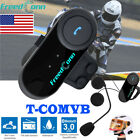 BT Motorcycle Intercom Bluetooth Motorbike Helmet Headset Speaker+FM Radios 800m