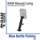 RAM Mount Long for Lowrance Elite and Hook 3/4/5 B Ball