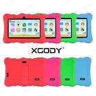 XGODY 7'' inch Android Tablet for Kids Google 8GB Quad Core WiFi Child Children